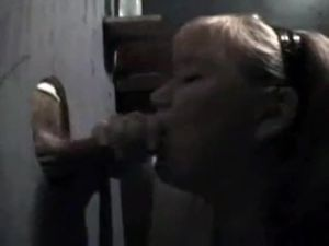Mature Gloryhole and Cum Play