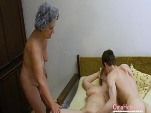 OmaHoteL Old Threesome Hairy Mature..
