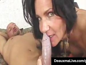 Texas Cougar Deauxma Takes A Big Dick In..