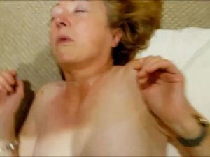 Dirty mature whore throat fucked,piss in..