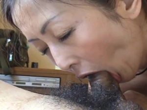 Blowjob pov from asian mature