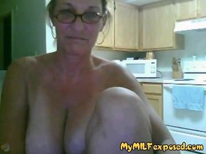 My MILF Exposed Granny with big tits..