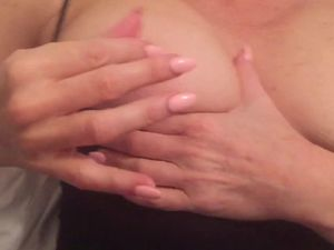 Wife covered in cum